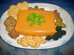Vegan cheeze plate. Nut-Free, Oil-Free, Soy-Free