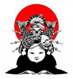 Жесткий график-арт Shohei Otomo