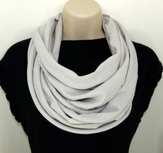 Shoply.com -Infinity Scarf Grey Light. Only $20.00