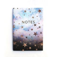 Constellation stars notebook set by Nikkistrange on Etsy