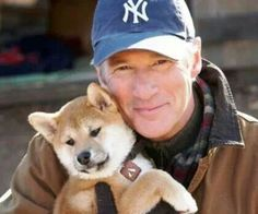 Hachiko! ♡ Hachiko Dog, Richard Gere Movies, Cute Puppies, Cute Dogs, A Dog's Tale, Celebrity Dogs, Japanese Dogs, Famous Dogs, Akita Dog