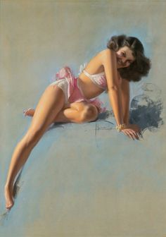 Rolf Armstrong, 'See You Soon', 1947