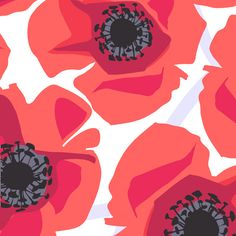 This vibrant collection by Jane Dixon features bright poppies and bold patterns. Click on the picture to see the entire collection. Pattern A-6068-R.