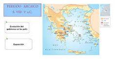 Resultado de imagen de periodo arcaico grecia