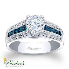 Barkev's Blue Diamond Engagement Ring!