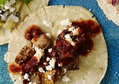 Cumin and Ancho Chicken Tacos- An amazing and simple weeknight dish.  Friends and family will think you spent hours making this delicious meal.