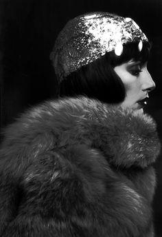 """ Lynn Kohlman in fur,1973 - photo Willie Christie"