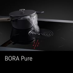 A class of its own. – A trademark of your kitchen. Live at your BORA partner from May cooktop extractor Espresso Machine, Storage Spaces, Kitchen Appliances, Pure Products, Kitchen Inspiration, Live, Ideas, Espresso Maker, Diy Kitchen Appliances