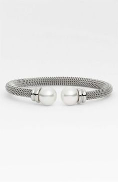 Majorica 12mm Pearl Bangle available at #Nordstrom