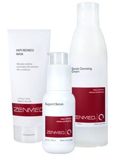If you suffer from Rosacea, you probably know how annoying skin redness and blotchiness can get on your skin. In order to get Rosacea under control, you need an effective treatment that will work on the red areas. Without the proper treatment of this skin condition, it could spread to other areas and worsen. Using ZENMED works to help heal flare ups and properly conditions the skin in order to prevent future problems.