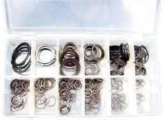 300 Piece Snap Ring Assortment