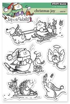 Mice - Rubber Stamps