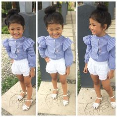 Xshameih Mei - Those faces😂😂😂Yooying Little Girl Swag, Little Girl Outfits, Cute Outfits For Kids, Little Girl Fashion, Toddler Girl Outfits, Toddler Fashion, Cute Kids, Kids Fashion, Stylish Baby