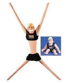 Ahhhh Stretch Armstrong !