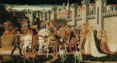 Le Triomphe de David, Francesco Pesellino, Londres, National Gallery