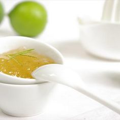 Lime Jam With Ginger and Vanilla Recipe