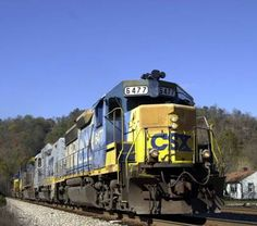 Danny drove this engine.  CSX train