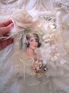 Fabric Book Bridal Card Holder | Flickr - Photo Sharing!
