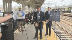 Senator Nearly Hit by Train During a Train Safety Event.