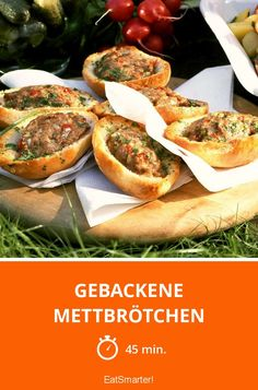 Gebackene Mettbrötchen - smarter - Zeit: 45 Min. | eatsmarter.de