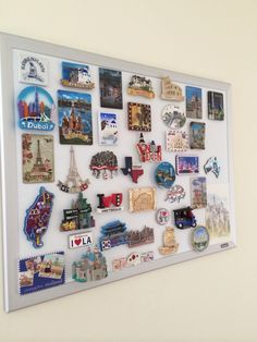 Alternative To Fridge Magnets Souvenir Magnet Display Board Home