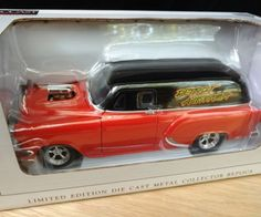 Detroit Autorama 2008 1954 Chevy Sedan Orange Panel Hotrod 11th in Series