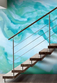 @YorkWall_Co's Georgia mural is a MASSIVE 15 feet wide by 9 feet tall, and it's only $207.99 at DecoratorsBest. Consider your statement-making accent wall complete. Did we mention it comes in more colors, too? This just might be our favorite watercolor wallpaper!