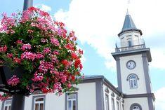 Flower towers Terra in Brzozów, Poland