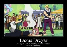 So true!! I laughed so hard at this part!! xD Laxus was so nonchalant about the whole thing and then walked off. xD