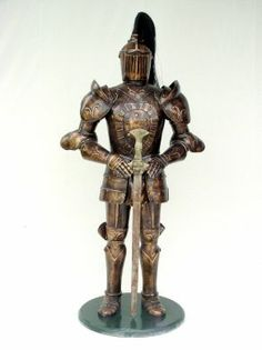 LM Treasures provides quality Knight w Sword Life Size statues Life Size Statues, Scottish Fashion, Living Room Accents, Animal Statues, Knight Armor, Movie Props, Cool Furniture, Sword, Medieval