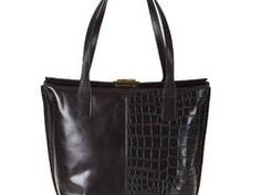 Elegancka włoska torebka - Genuine Leather