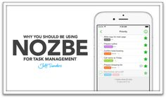 You should certainly be using Nozbe for task management. It is my favorite system for personal productivity.