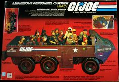 Gi Joe, Childhood Toys, Box Art, Growing Up, Monster Trucks, Army, United States, Action, Hero