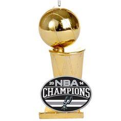 San Antonio Spurs 2014 NBA Finals Champions Trophy Ornament