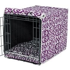 Dog Crate Cover available @ Felixchien.com Dog Boutique