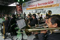 Nezahualcóyotl, Méx. 15 Junio 2013. La Banda Sinfónica Municipal tampoco podía faltar en este interesante y necesario encuentro cultural.