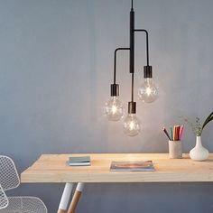 Cool Chandelier - Black by Frandsen Lighting #MONOQI