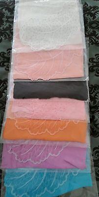 Silk shawls wrap hijab Kuwaiti