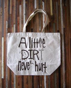 A little dirt....