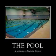 Only a swimmer would understand.