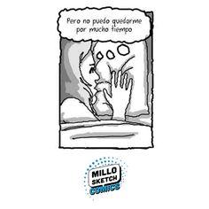 Pillow #comics #bed #illustration #drawing #portrait #storytelling #workshop