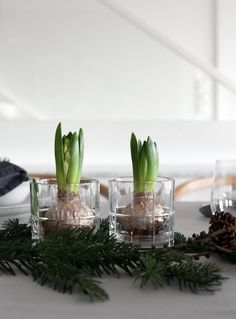 An+easy+Christmas+table+setting+