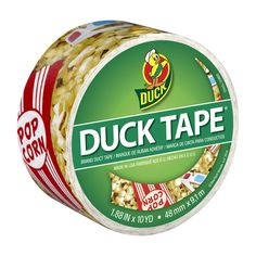 Printed Duck® brand duct tape - Movie Night http://duckbrand.com/products/duck-tape/prints/standard-rolls/movie-night-188-in-x-10-yd?utm_campaign=color-duck-tape-general&utm_medium=social&utm_source=pinterest.com&utm_content=printed-duct-tape