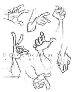 Hands Concept Design Sketches - The Art of David Boudreau Art Drawings Sketches, Cartoon Drawings, Cartoon Art, Drawing Cartoon Characters, Hand Drawing Reference, Art Reference Poses, Poses References, Character Drawing, Character Design Animation