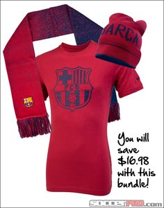 Barcelona Fan Gift Pack - T-shirt 463f605a6