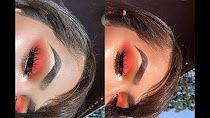 (93) Blood Orange Makeup Look | Lola Herrera - YouTube
