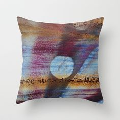 Moon  Throw Pillow by Jean-François Dupuis - $20.00
