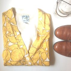 Tabitha Golden Plum Cardigan Golden button up cardigan. Cropped fit. Perfect to wear with jeans or with a cute skirt or dress. In awesome condition!!! Anthropologie Sweaters Cardigans