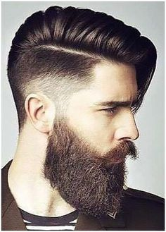 Check out the newest beard styles for 2020 with ideas for short, full, and long beards along with Beard and Company's rated beard oils, balms, and sprays that keep your facial hair soft and healthy. Proudly handmade in the USA with worldwide shipping. Beard Haircut, Fade Haircut, Side Hairstyles, Undercut Hairstyles, Men's Hairstyles, Curly Hairstyle, Ladies Hairstyles, Hairstyle Ideas, Hair And Beard Styles