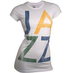 Utah Jazz Women s Vintage Nice T-Shirt (White) 313425b2e